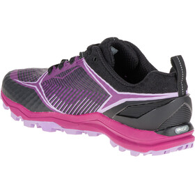Merrell W's All Out Crush Shield Shoes BLACK/PURPLE